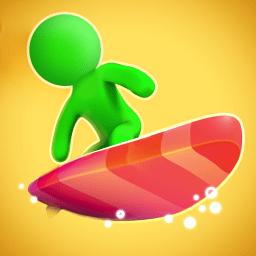 橡皮人冲浪比赛(Dab Racing)