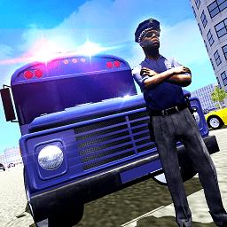 警车巴士运输纽约中文版