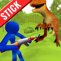 火柴人战争狩猎恐龙无限子弹版v1.02 安卓版