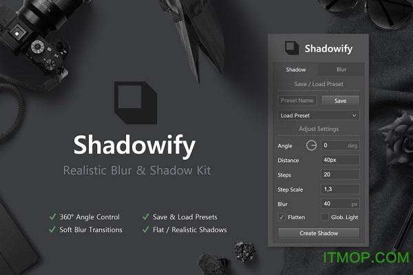 ps投影扩展面板Shadowify 最新特别版 0
