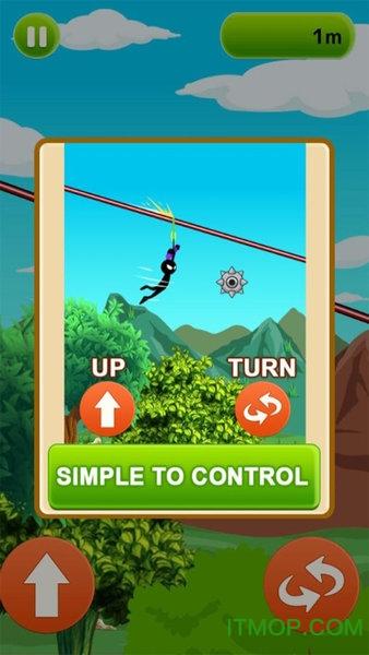 蜘蛛�b�K索滑翔 v2.0 安卓版 0