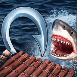 木筏求生饥饿鲨鱼来袭