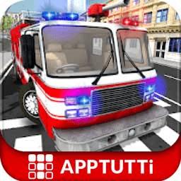 消防员营救模拟