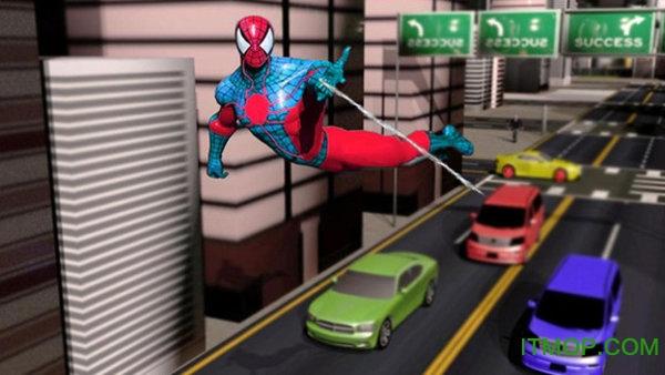 蜘蛛侠绳索超级英雄手游