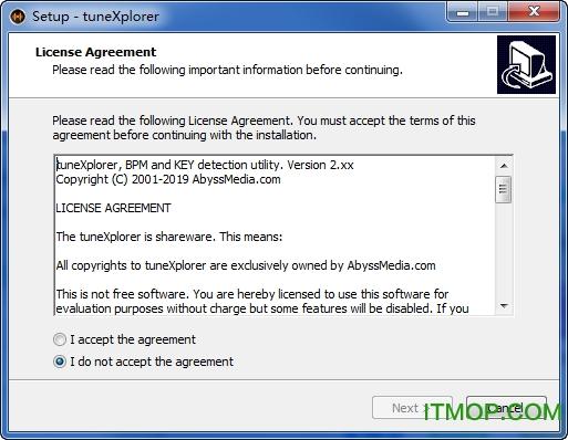 AbyssMedia tuneXplorer(音�{查看工具) v2.7.6 免�M安�b版 0