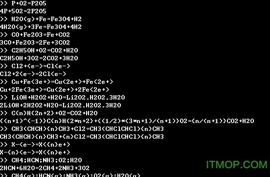 使用Python配平化学方程式的方法