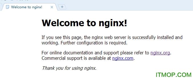 nginx windows安装和启动