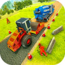 道路建设模拟