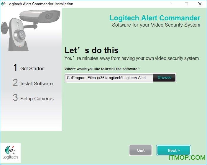 罗技摄像头监控软件(Logitech Alert Commander) v3.5.97 官方版 0