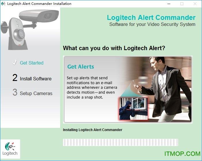 罗技摄像头监控软件(Logitech Alert Commander)下载