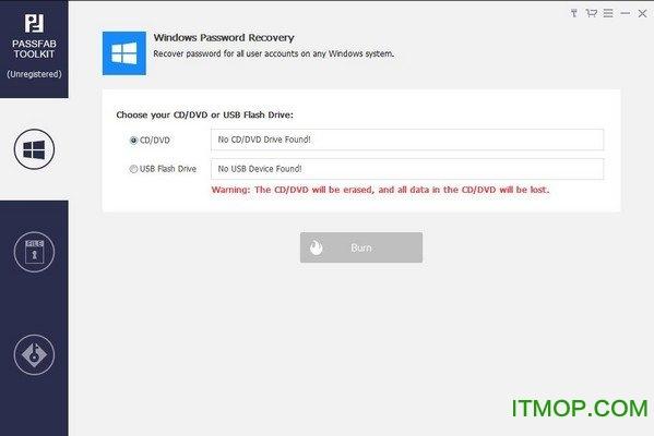 PassFab ToolKit注册版(密码恢复重置软件) v1.0.0.1 免费版 0