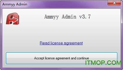 Ammyy Admin(�h程桌面控制工具) v3.7 �G色免�M版 0