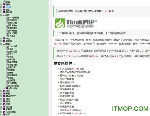 ThinkPHP5.1手��