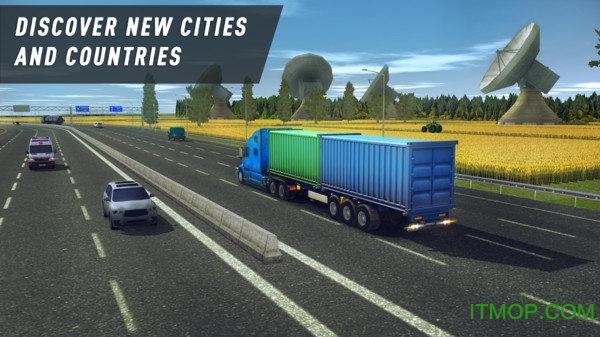 卡车世界遨游欧美无限金币版