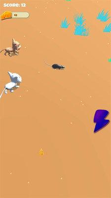 老鼠大战猫游戏
