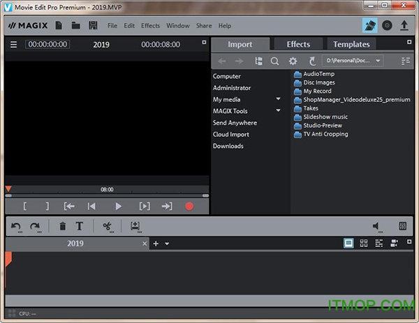 MAGIX Movie Edit Pro 2019 Premium v18.0.1.213 中文破解版 0