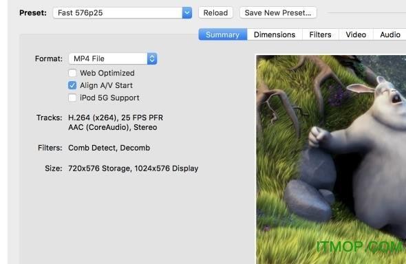 handbrake for mac(开源视频转码器) v1.2.2 中文版 0