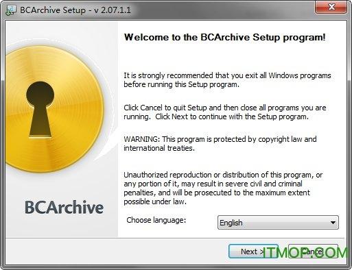BCArchive(文件加密工具) v2.07.1 中文龙8娱乐平台 0
