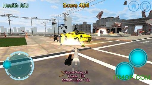 山羊突�絷�3d官方版(Goat Commando 3D) v1.3 安卓版 3