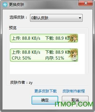 TrafficMonitor(电脑网速监控悬浮窗) v1.76 官方绿色版 0