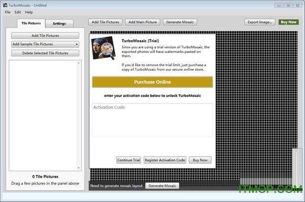 TurboMosaic(蒙太奇马赛克拼图制作工具) v3.0.9 龙8娱乐平台 0