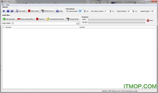 MP3 Silence Cut(音频剪辑合成) v1.0.4.9 破解版 0