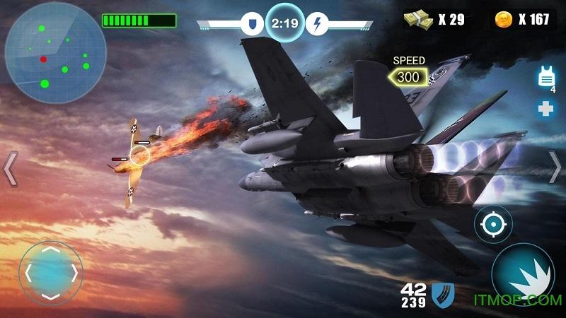 空中战争之雷霆射击(Air Fighter War) v1.1.2 安卓版 3