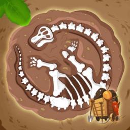 恐龙化石发掘(Dinosaur Fossil Discover)