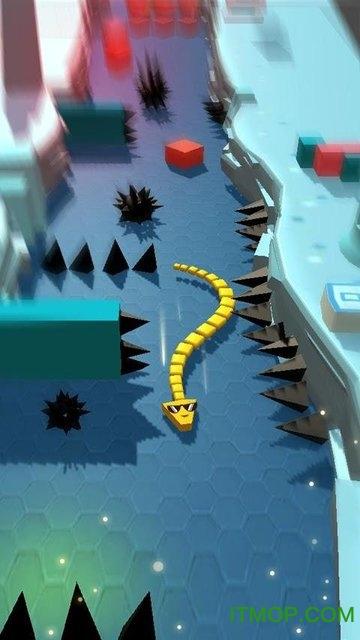 点点贪吃蛇无限黄金破解版(Tap Snake) v2.0  安卓内购版 3