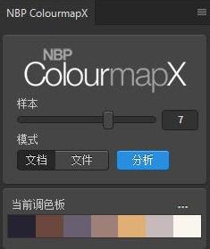 NBP ColourmapX