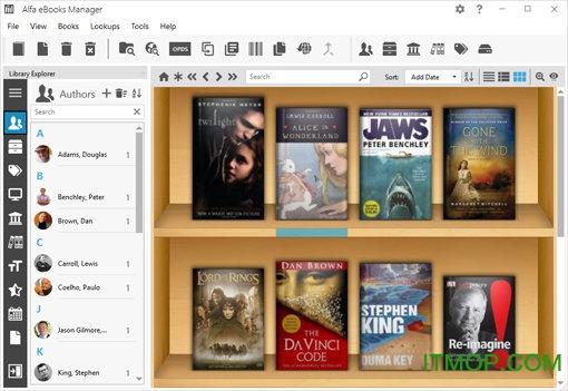 Alfa eBooks Manager破解版