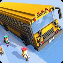 像素校车司机(School Bus Game)
