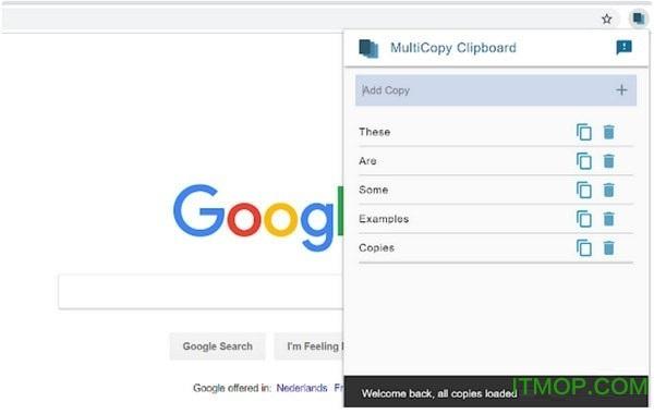 Multicopy Clipboard(Chrome复制增强插件) v3.1.2.0 免费版 0