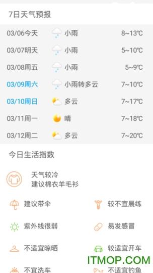 天气看看最新版 v1.0.0 安卓版3
