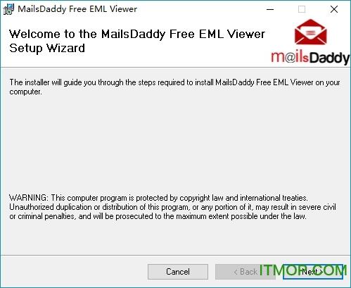 MailsDaddy Free EML Viewer(EML文件阅读器) v2.0 免费版 0