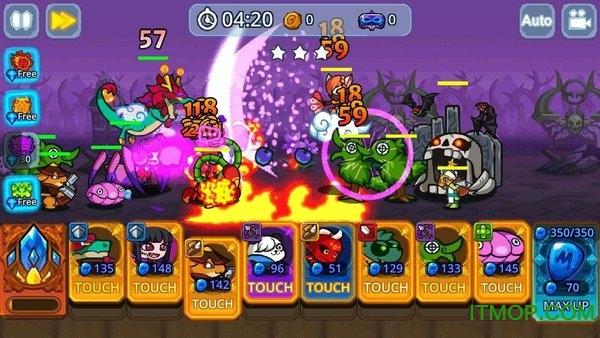 怪物塔防之王破解版(monster defense king) v1.1.1 安卓内购最新版 2