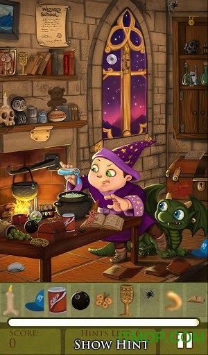 隐藏物品之巫师学校(Hidden Object Wizard School) v1.1.27 安卓版 0