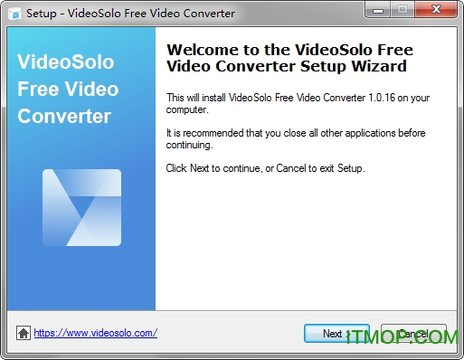 VideoSolo free video converter(视频转换器) v1.0.30 多语言版 0