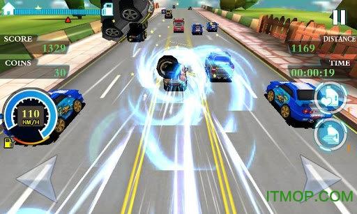 疯狂超车游戏