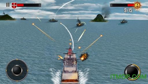 海上战舰3D(Sea Battleship Combat 3D) v1.4 安卓版 3