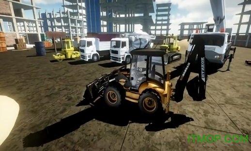 施工挖掘机模拟器2019内购破解版 v1 安卓关卡解锁版 1