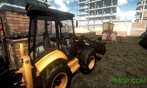 施工挖掘机模拟器2019关卡解锁版