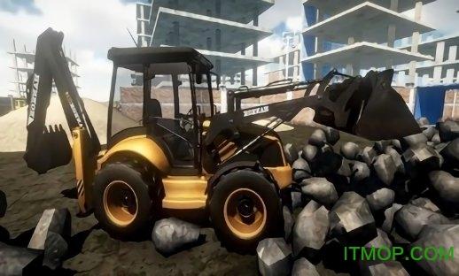 施工挖掘机模拟器2019内购破解版 v1 安卓关卡解锁版 2