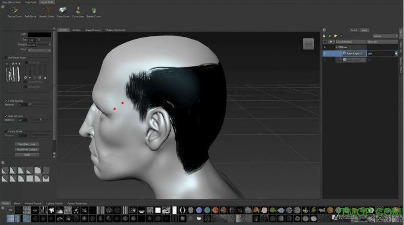Ornatrix for 3ds MAX(3D Max毛发插件) v6.0.12 破解版 0