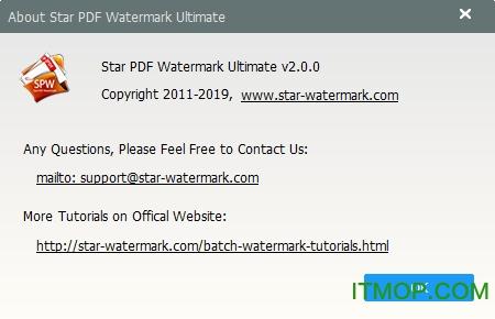 Star PDF Watermark破解版下载
