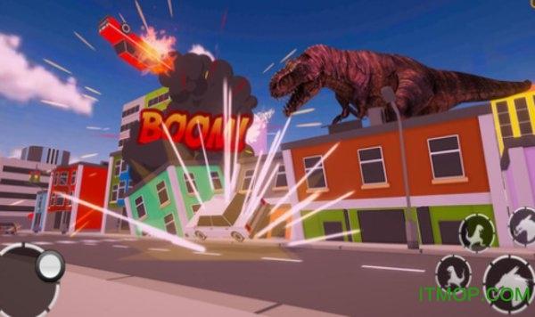 恐龙摧毁城市模拟 v1.0 安卓版 0