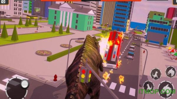 恐龙摧毁城市模拟 v1.0 安卓版 2