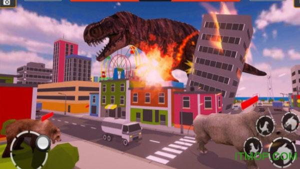 恐龙摧毁城市模拟 v1.0 安卓版 3