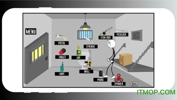 火柴人极限越狱 v1.0 安卓版 1