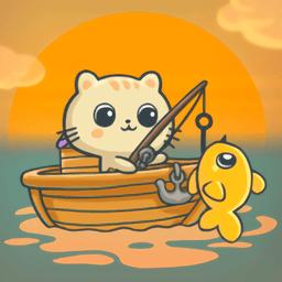 我的猫咪钓鱼手机版